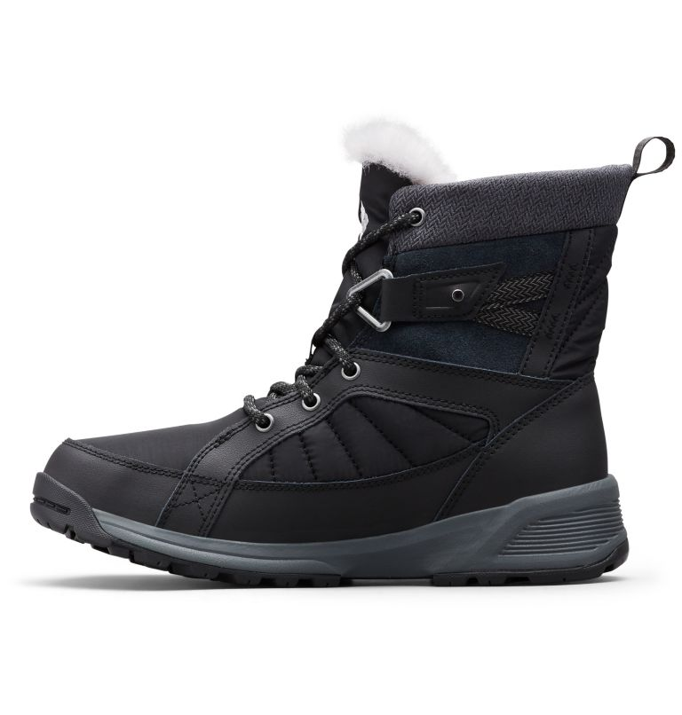 MEADOWS™ SHORTY OMNI-HEAT™ 3D | 010 | 6.5 Scarponi da neve Meadows™ Omni-Heat™ Mid-Cut da donna, Black, Steam, medial