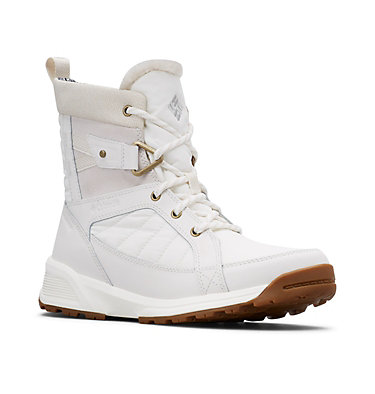 Women's Meadows™ Omni-Heat™ Mid-Cut Snow Boots MEADOWS™ SHORTY OMNI-HEAT™ 3D | 125 | 10, Sea Salt, Rosewood, 3/4 front