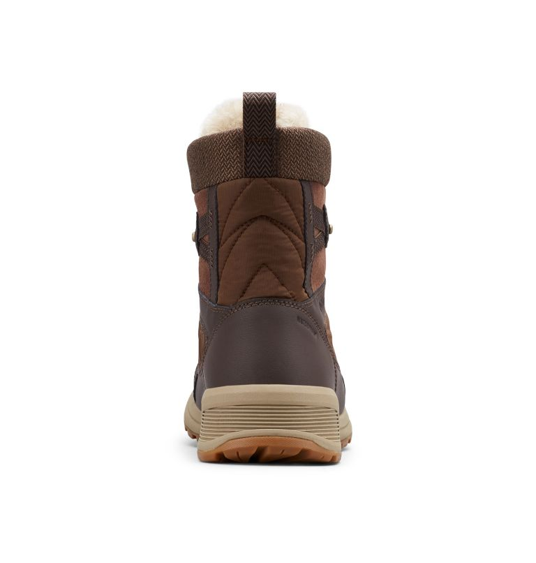 MEADOWS™ SHORTY OMNI-HEAT™ 3D | 200 | 11 Botte De Neige Mi-Montante Meadows™ Omni-Heat™ Femme, Espresso MHW, Lagoon, back