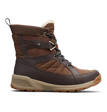 Women's Meadows™ Omni-Heat™ Mid-Cut Snow Boots MEADOWS™ SHORTY OMNI-HEAT™ 3D | 125 | 10, Espresso MHW, Lagoon, front