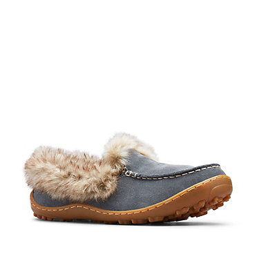 Women's Minx™ Omni-Heat™ Slipper MINX™ OMNI-HEAT™ | 053 | 10, Graphite, Ancient Fossil, 3/4 front