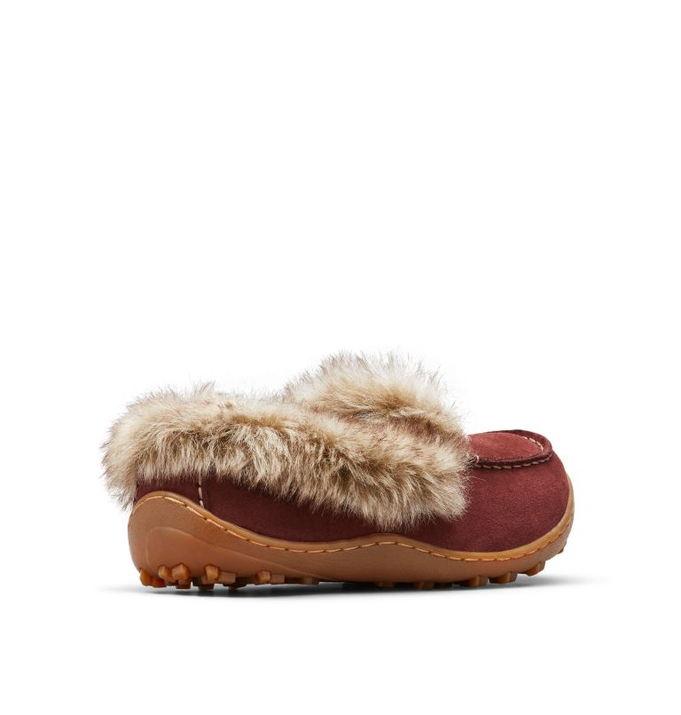 MINX™ OMNI-HEAT™ | 259 | 9.5 Women's Minx™ Omni-Heat™ Slipper, Madder Brown, Ancient Fossil, 3/4 back