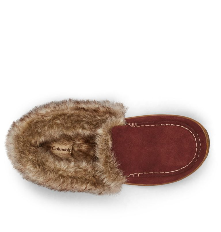 MINX™ OMNI-HEAT™ | 259 | 9.5 Women's Minx™ Omni-Heat™ Slipper, Madder Brown, Ancient Fossil, top