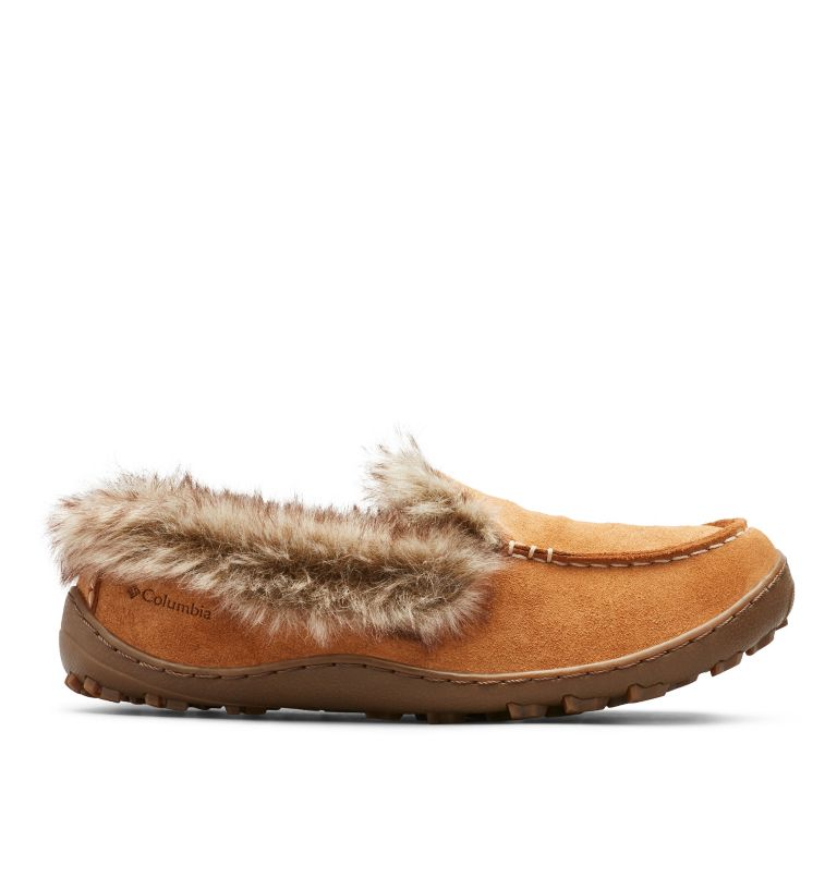 MINX™ OMNI-HEAT™ | 286 | 7 Women's Minx™ Omni-Heat™ Slipper, Elk, Ancient Fossil, front