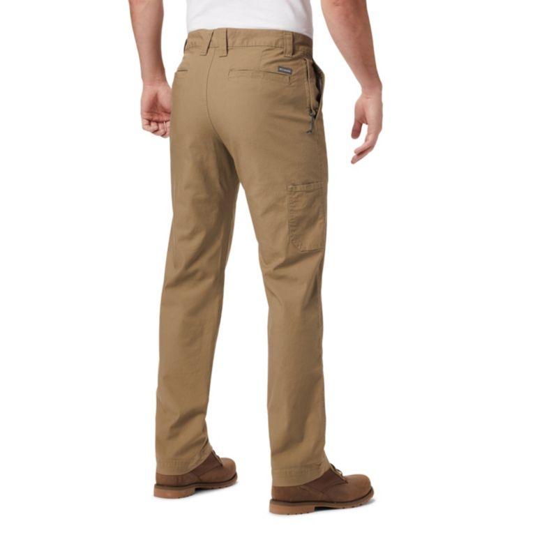 "Columbia Mens Flex Roc Pants Sizes 30 36 44 Waist Flax 32/"" Inseam"