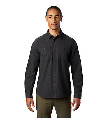 Men's Riveter Twill™ Long Sleeve Shirt Riveter Twill™ Long Sleeve Shi | 233 | S, Stealth Grey, front