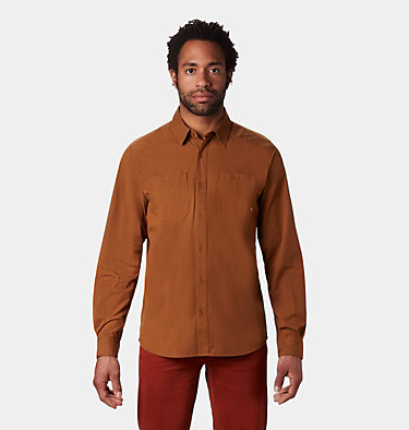 Men's Riveter Twill™ Long Sleeve Shirt Riveter Twill™ Long Sleeve Shi | 233 | S, Golden Brown, front