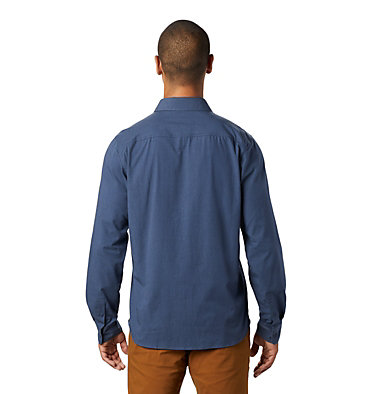 Men's Riveter Twill™ Long Sleeve Shirt Riveter Twill™ Long Sleeve Shi | 233 | L, Zinc, back