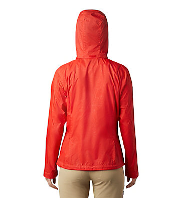 Women's Switchback™ III Printed Jacket Switchback™ III Printed Jacket | 843 | L, Bold Orange Wispy Bamboo Emboss, back