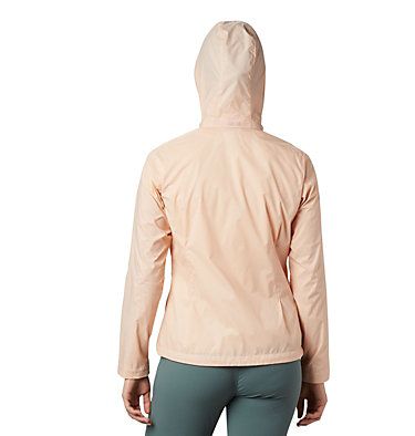 Women's Switchback™ III Printed Jacket Switchback™ III Printed Jacket | 843 | L, Peach Cloud Wispy Bamboo Emboss, back