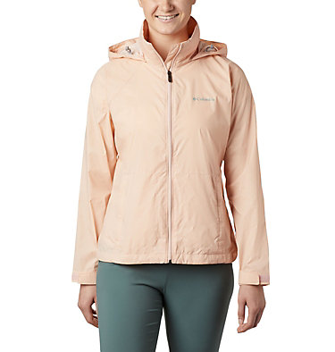 Women's Switchback™ III Printed Jacket Switchback™ III Printed Jacket | 843 | L, Peach Cloud Wispy Bamboo Emboss, front