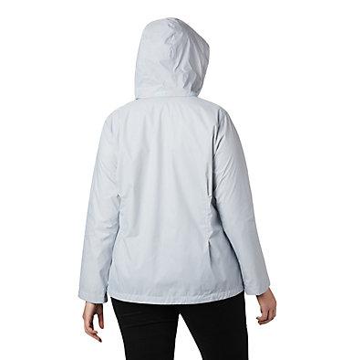 Women's Switchback™ III Printed Jacket – Plus Size Switchback™ III Printed Jacket | 843 | 1X, Cirrus Grey Wispy Bamboo Emboss, back