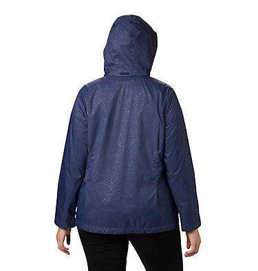 Women's Switchback™ III Printed Jacket – Plus Size Switchback™ III Printed Jacket | 843 | 1X, Nocturnal Wispy Bamboo Emboss, back