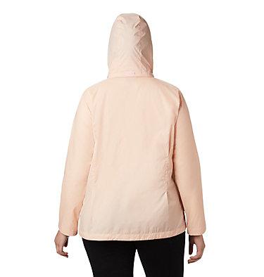 Women's Switchback™ III Printed Jacket – Plus Size Switchback™ III Printed Jacket | 843 | 1X, Peach Cloud Wispy Bamboo Emboss, back