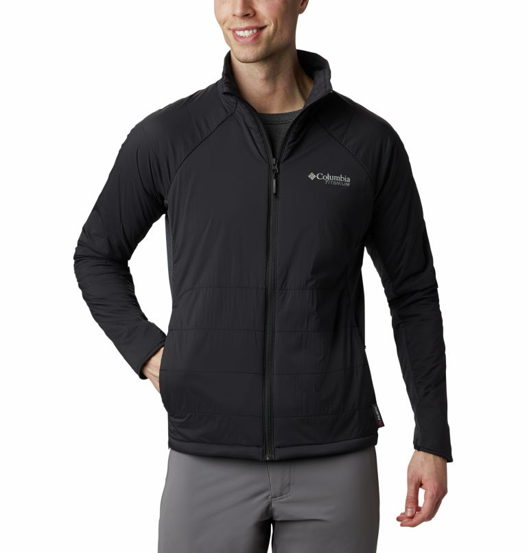 Alpine Traverse™ Jacket | 010 | S Veste Alpine Traverse™ Homme, Black, front