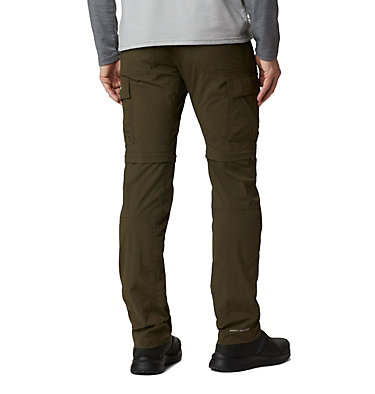 Men's Silver Ridge™ II Convertible Trousers Silver Ridge™ II Convertible Pant | 397 | 30, Olive Green, back