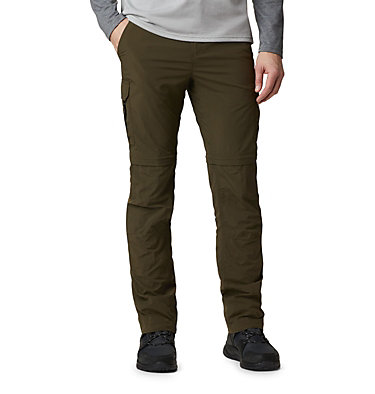 Men's Silver Ridge™ II Convertible Trousers Silver Ridge™ II Convertible Pant | 397 | 30, Olive Green, front