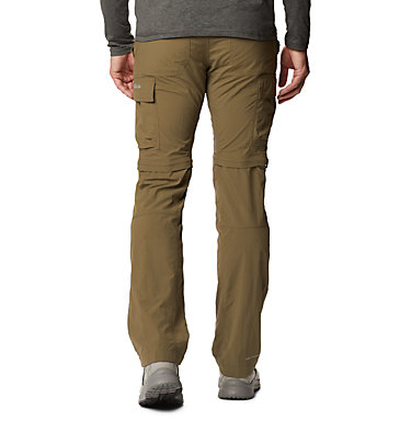 Men's Silver Ridge™ II Convertible Trousers Silver Ridge™ II Convertible Pant | 397 | 30, Stone Green, back