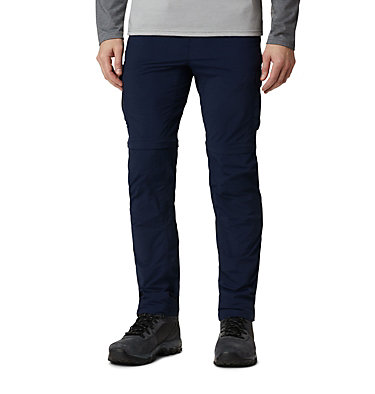 Men's Silver Ridge™ II Convertible Trousers Silver Ridge™ II Convertible Pant | 397 | 30, Collegiate Navy, front
