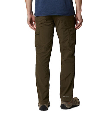 Men's Silver Ridge™ II Cargo Trousers Silver Ridge™ II Cargo Pant | 469 | 38, Olive Green, back