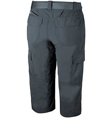 Men's Silver Ridge™ II Capri Trousers Silver Ridge™ II Capri | 160 | 28, Shark, back