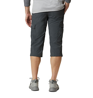 Men's Silver Ridge™ II Capri Trousers Silver Ridge™ II Capri | 160 | 28, Grill, back