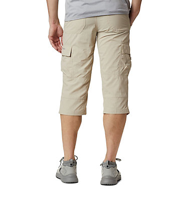 Men's Silver Ridge™ II Capri Trousers Silver Ridge™ II Capri | 160 | 28, Fossil, back