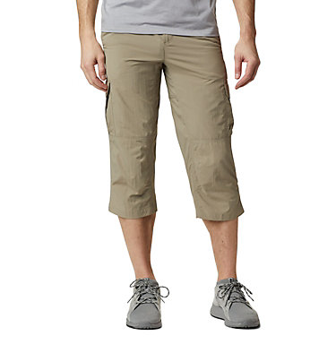 Men's Silver Ridge™ II Capri Trousers Silver Ridge™ II Capri | 160 | 28, Tusk, front
