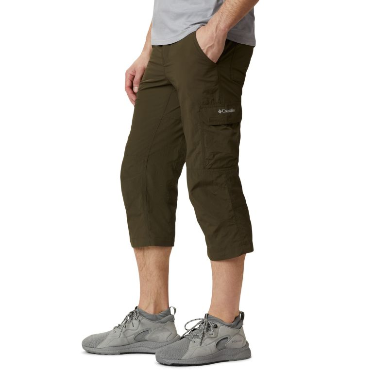 Silver Ridge™ II Capri | 319 | 32 Men's Silver Ridge™ II Capri Trousers, Olive Green, a1