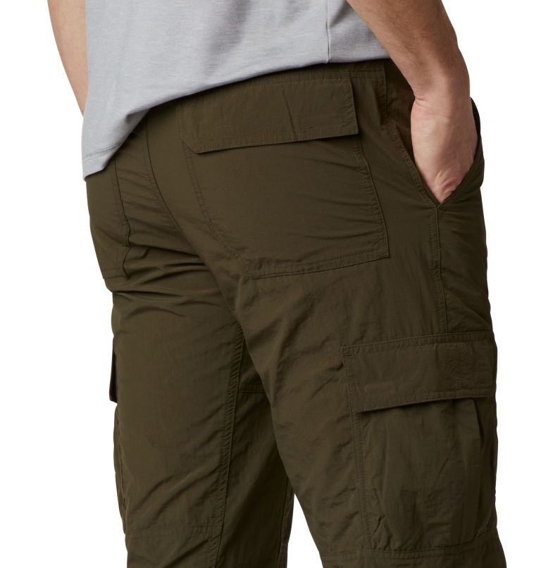 Silver Ridge™ II Capri | 319 | 28 Men's Silver Ridge™ II Capri Trousers, Olive Green, a3