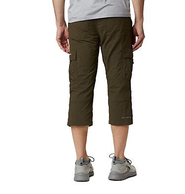 Men's Silver Ridge™ II Capri Trousers Silver Ridge™ II Capri | 160 | 28, Olive Green, back
