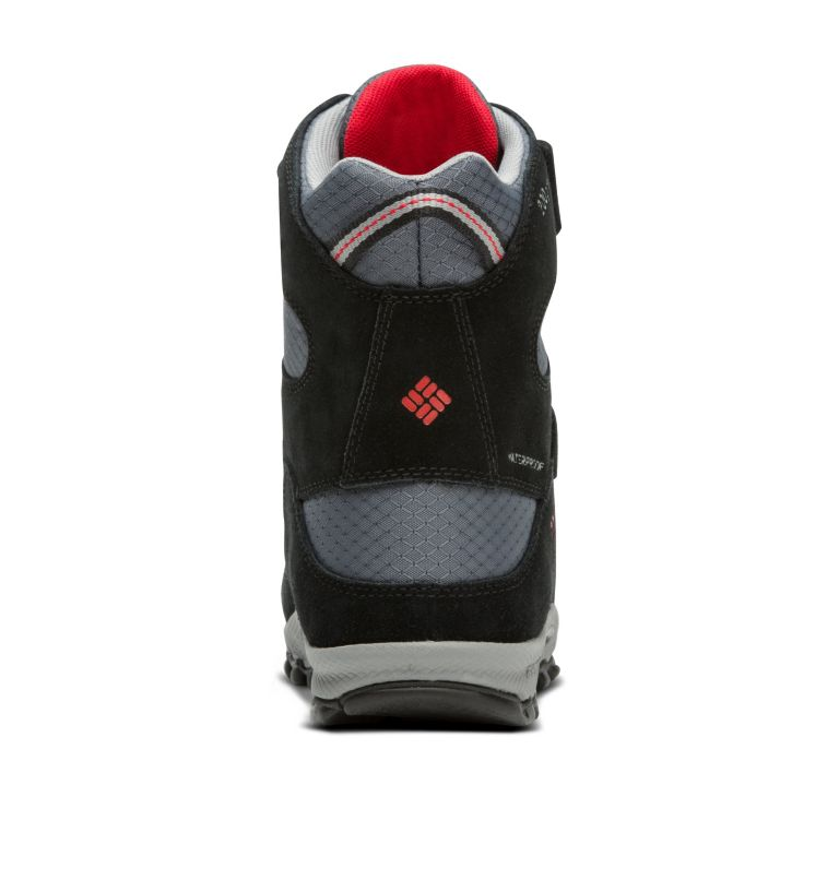 YOUTH PARKERS PEAK™ BOOT | 053 | 6 Botte Velcro Parkers Peak™ Junior, Graphite, Bright Red, back