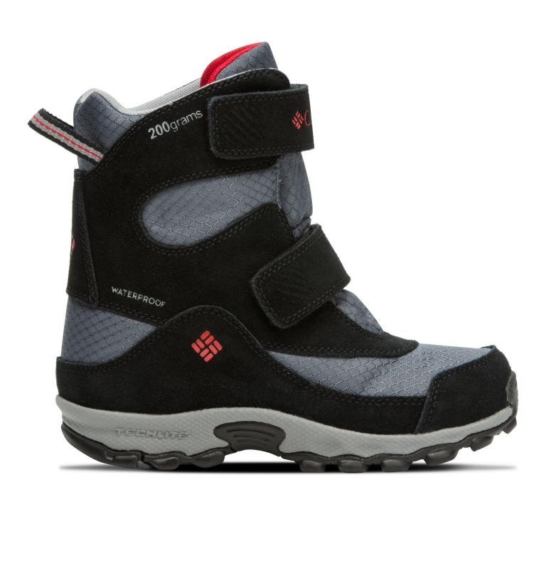 YOUTH PARKERS PEAK™ BOOT | 053 | 6 Botte Velcro Parkers Peak™ Junior, Graphite, Bright Red, front