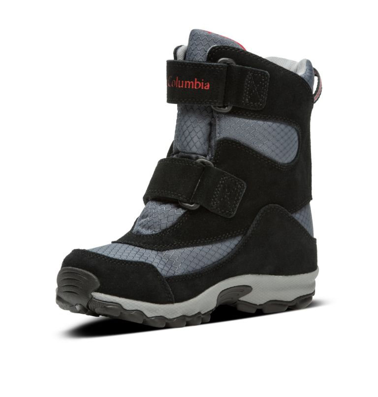 YOUTH PARKERS PEAK™ BOOT | 053 | 6 Botte Velcro Parkers Peak™ Junior, Graphite, Bright Red