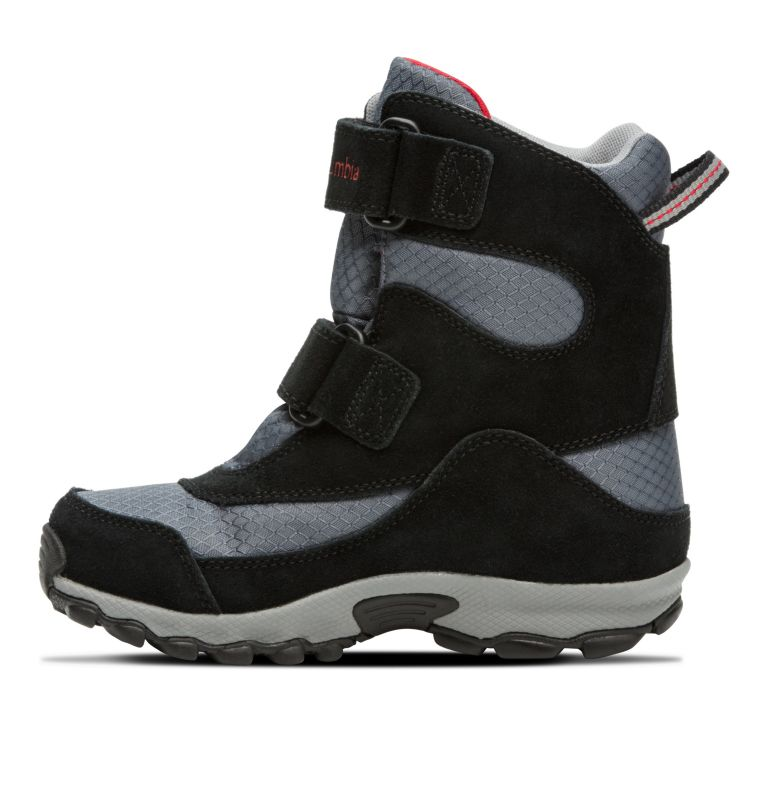YOUTH PARKERS PEAK™ BOOT | 053 | 6 Botte Velcro Parkers Peak™ Junior, Graphite, Bright Red, medial