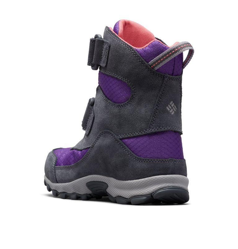 YOUTH PARKERS PEAK™ BOOT | 512 | 6 Botte Velcro Parkers Peak™ Junior, Emperor, Wild Salmon, 3/4 back