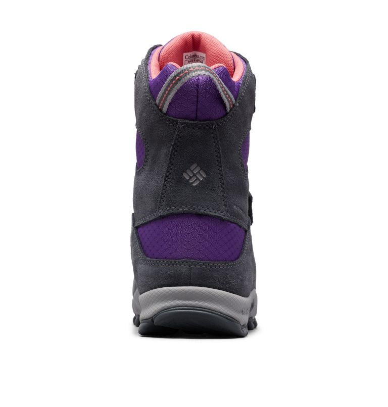 YOUTH PARKERS PEAK™ BOOT | 512 | 6 Botte Velcro Parkers Peak™ Junior, Emperor, Wild Salmon, back