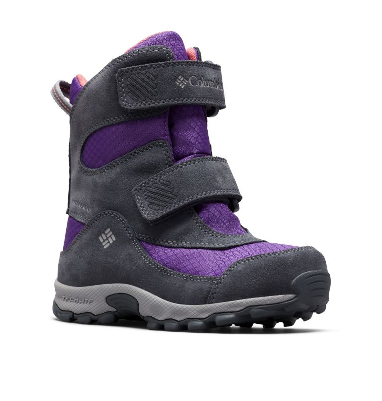 YOUTH PARKERS PEAK™ BOOT | 512 | 6 Botte Velcro Parkers Peak™ Junior, Emperor, Wild Salmon, 3/4 front