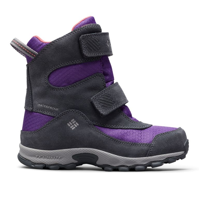 YOUTH PARKERS PEAK™ BOOT | 512 | 6 Botte Velcro Parkers Peak™ Junior, Emperor, Wild Salmon, front