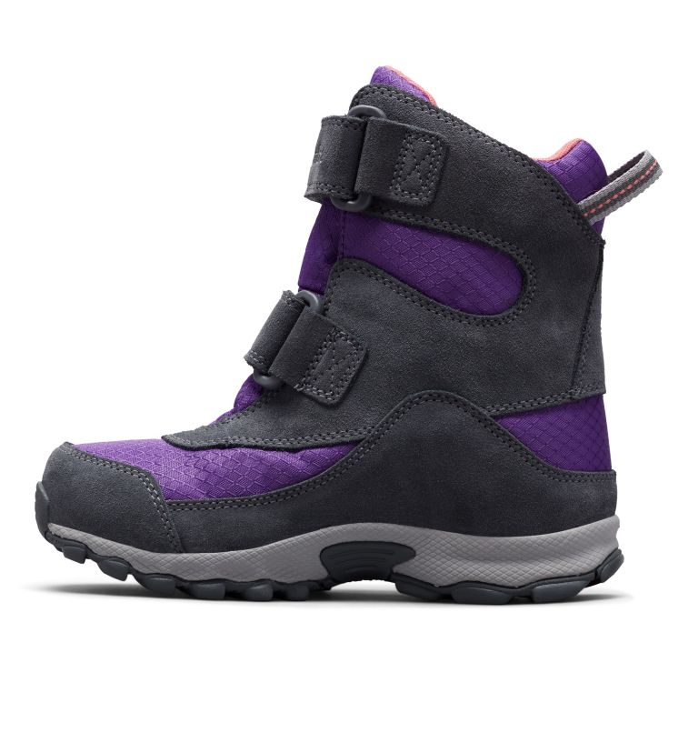 YOUTH PARKERS PEAK™ BOOT | 512 | 6 Botte Velcro Parkers Peak™ Junior, Emperor, Wild Salmon, medial