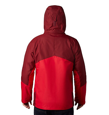 Men's Bugaboo™ II Insulated Interchange Jacket Bugaboo™ II Insulated Intercha | 613 | L, Mountain Red, Red Jasper, back