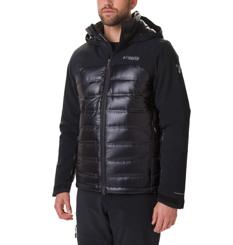 Heatzone™ 1000 TurboDown™ II J | 010 | XXL Heatzone™ 1000 TurboDown™ II Jacket, Black, front