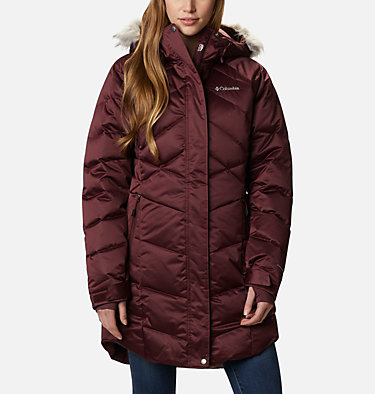 Manteau Lay D Down™ II mi-longueur pour femme Lay D Down™ II Mid Jacket | 671 | S, Malbec, front