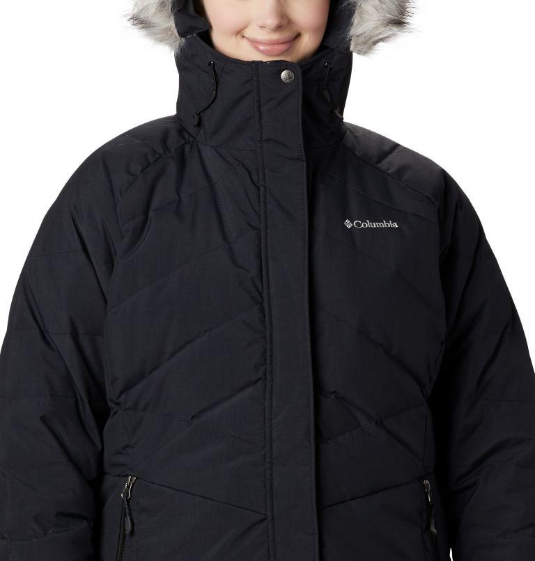 Lay D Down™ II Mid Jacket | 010 | 2X Women's Lay D Down™ II Mid Jacket - Plus Size, Black Metallic, a1