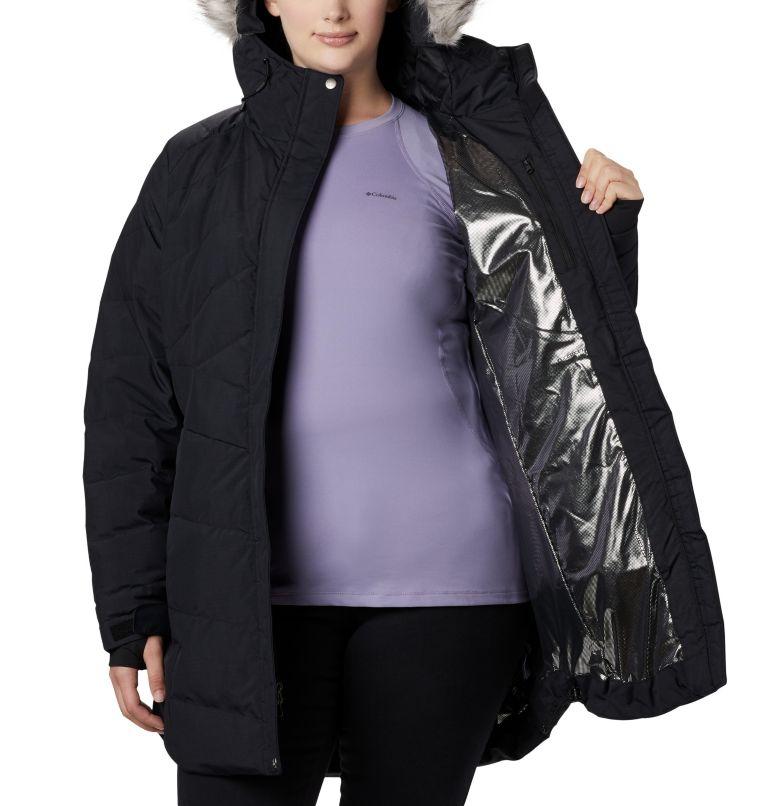 Lay D Down™ II Mid Jacket | 010 | 2X Women's Lay D Down™ II Mid Jacket - Plus Size, Black Metallic, a4