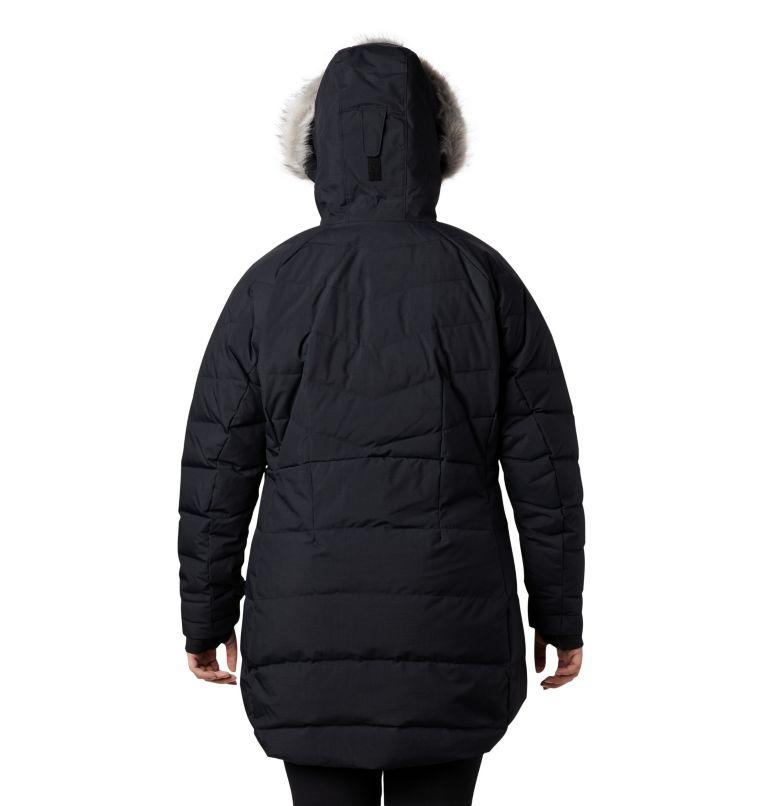 Lay D Down™ II Mid Jacket | 010 | 2X Women's Lay D Down™ II Mid Jacket - Plus Size, Black Metallic, back