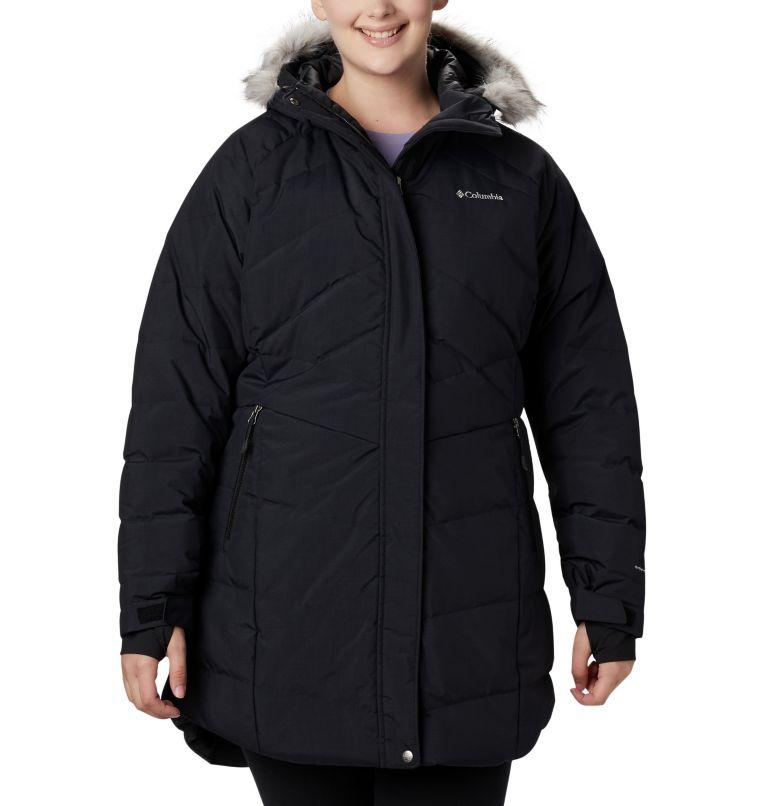 Lay D Down™ II Mid Jacket | 010 | 2X Women's Lay D Down™ II Mid Jacket - Plus Size, Black Metallic, front
