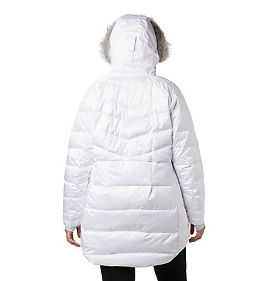 Women's Lay D Down™ II Mid Jacket - Plus Size Lay D Down™ II Mid Jacket | 319 | 1X, White, back