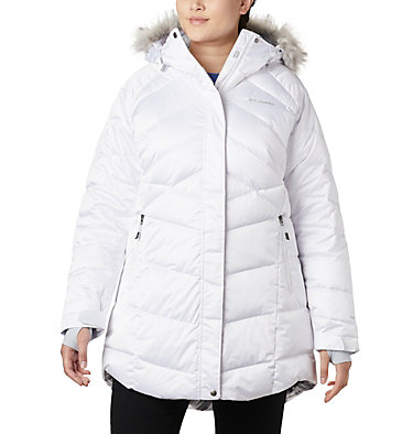 Women's Lay D Down™ II Mid Jacket - Plus Size Lay D Down™ II Mid Jacket | 319 | 1X, White, front