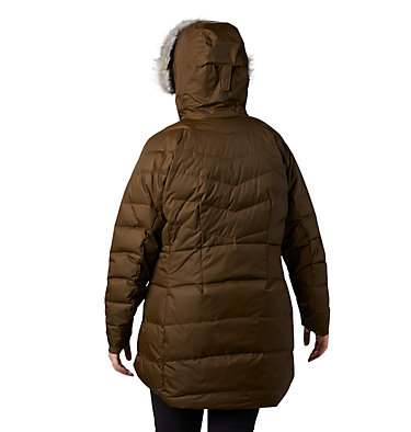 Women's Lay D Down™ II Mid Jacket - Plus Size Lay D Down™ II Mid Jacket | 319 | 1X, Olive Green, back